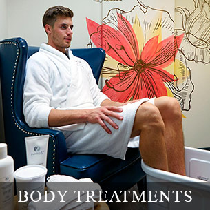 BODY TREATMENTS - Enjoy hour long relaxing lymphatic drainage treatments at the Weiler Academy. These body treatments promote stimulating blood circulation and elimates toxins.