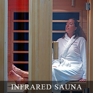 INFRARED SAUNA - Enjoy a relaxing stress reducing infrared sauna at the Weiler Academy.