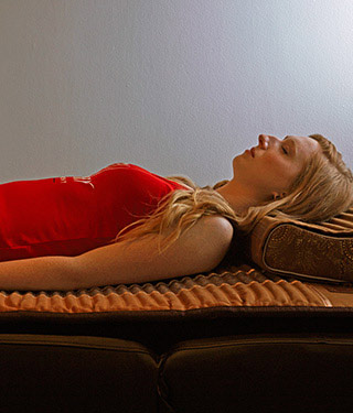 BioMat™ - Take a power nap in our meditation room and let the deep healing power of the BioMat™ balance your bodies energies.