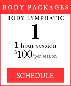 Body Packages - 1 1-hour Body Lymphatic session, $100.