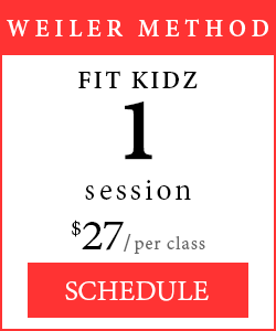 Weiler Method - 1 session of Fit Kidz, $27 per class.