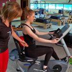 Weiler Academy Healthy Living Tip – Recumbent Bike Posture